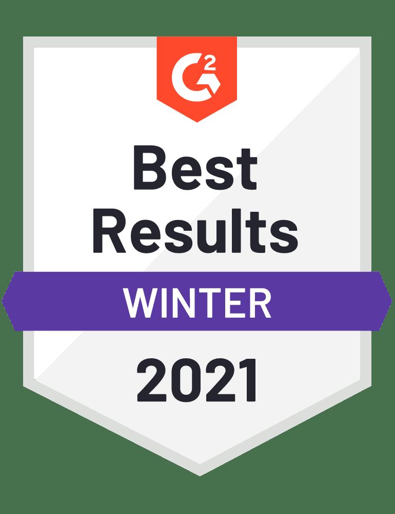 G2 Best Results Blumira